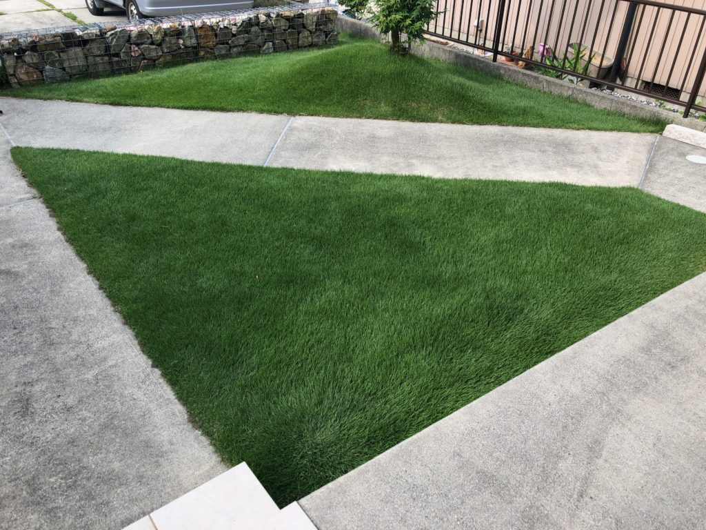6月7日芝刈り。唸れ!俺の芝生バリカン!マキタMUM604D