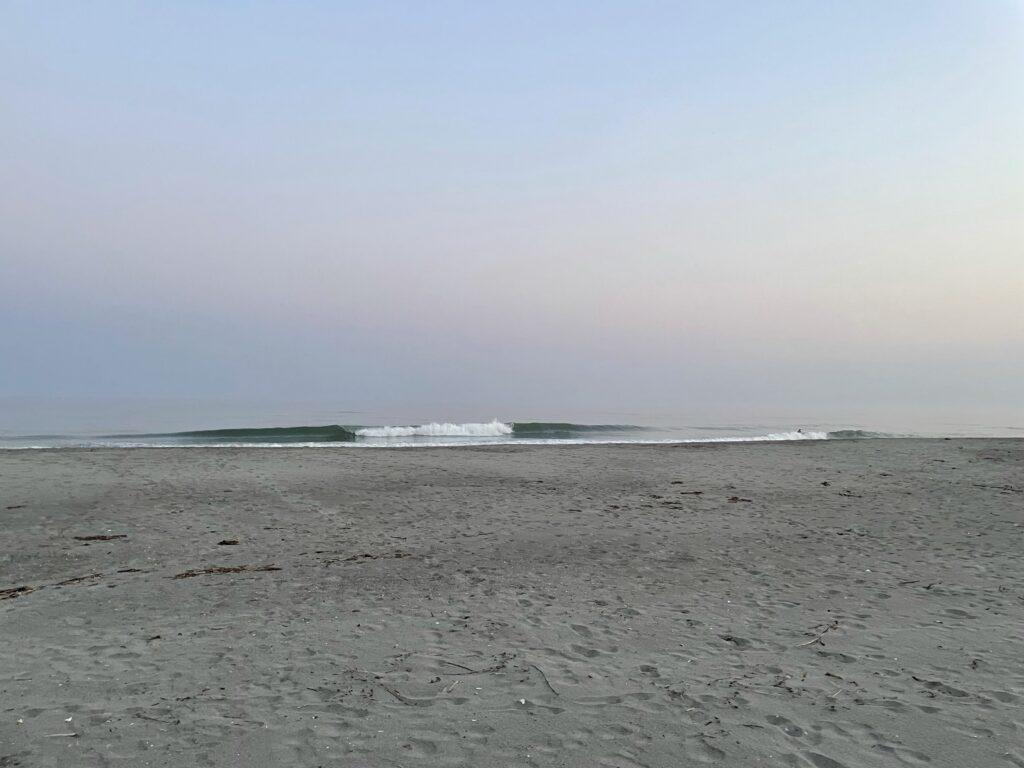 6月9日豊橋小島海岸サーフィン波情報