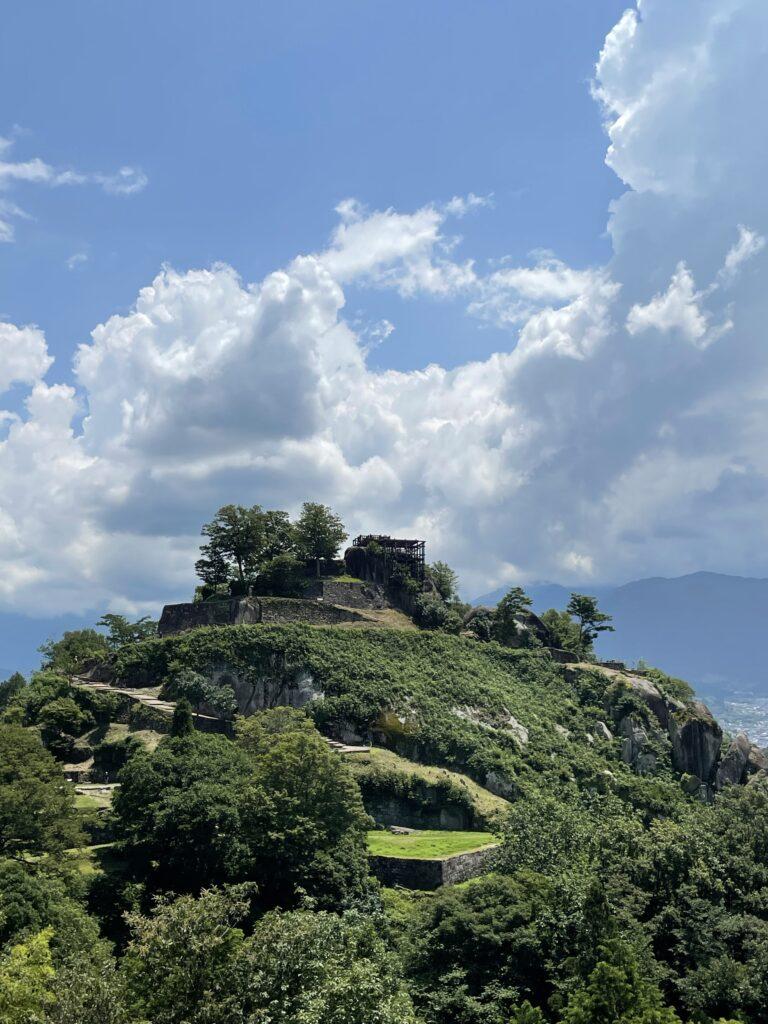 7月24日中津川の苗木城に行ってきた。