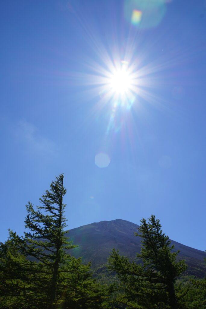 スバルラインで富士山五号目まで行ってきた。